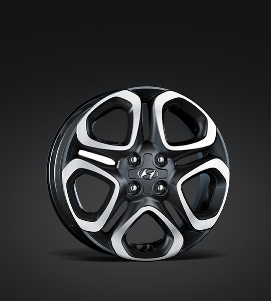 Stylish alloy wheels