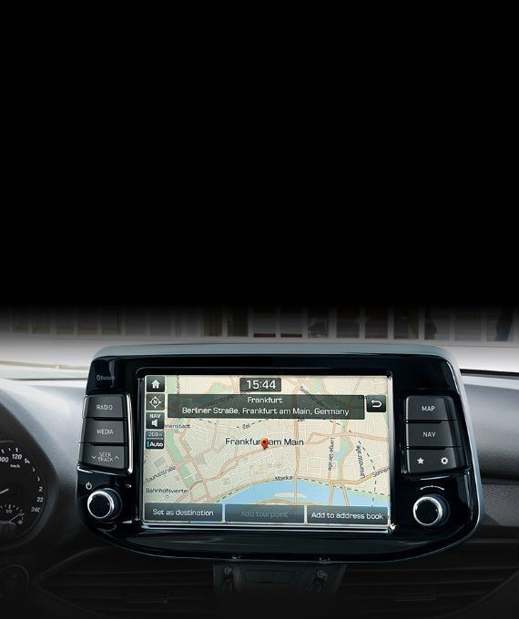 Navigation & floating touch-screen